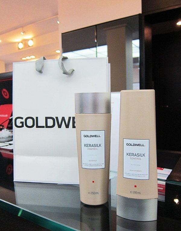 Goldwell Kerasilk Control Shampoo und Conditioner: Nachbehandlung für Zuhause (Review auf Hey Pretty)
