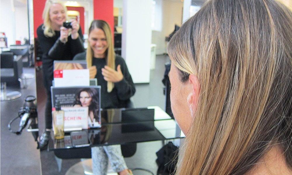 Im Test: Goldwell Kerasilk Control Keratin-Treatment auf Hey Pretty Beauty Blog, mit vorher/nachher Fotos!