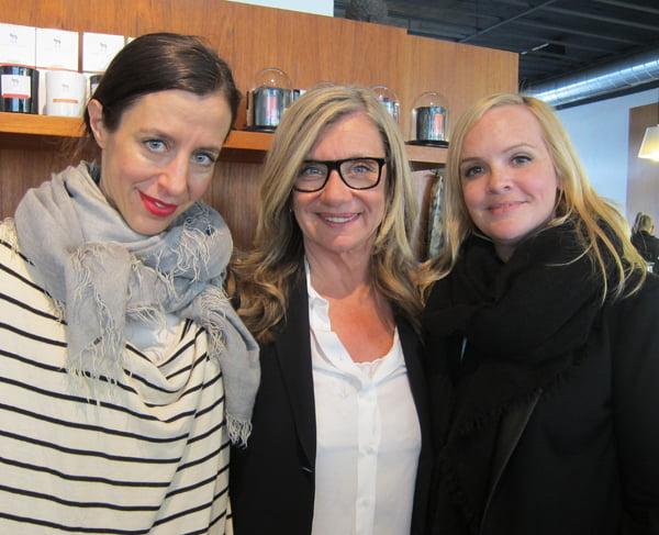 Katrin Roth, Bea Petri und Steffi Hidber: Beauty-Trio at Schminkbar Zürich