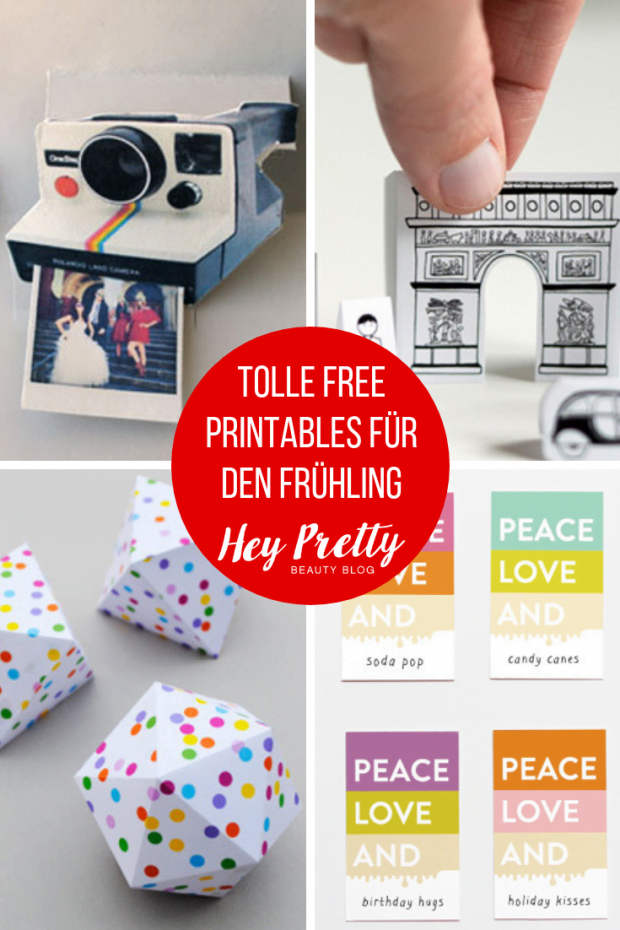 Coole Free Printable Projekte, die immer Spass machen – Hey Pretty Best of Pinterest DIY IDeen