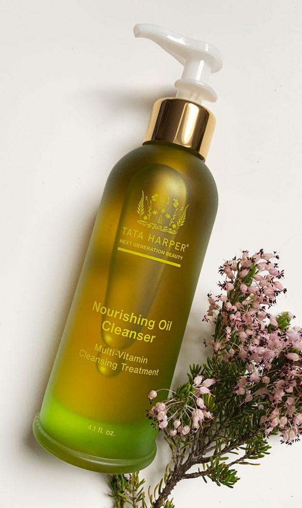 Tata Harper Skincare Nourishing Oil Cleanser (Erfahrungsbericht und Test auf Hey Pretty Schweiz mit Kultkosmetik)