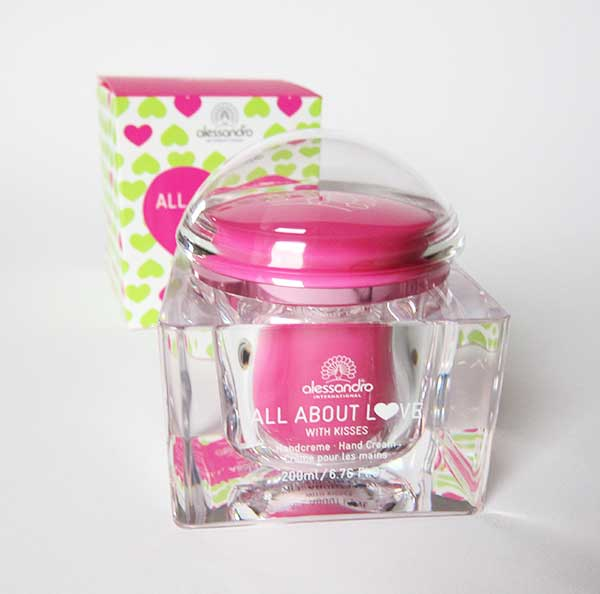 Alessandro All About Love Handcreme, Image by Hey Pretty