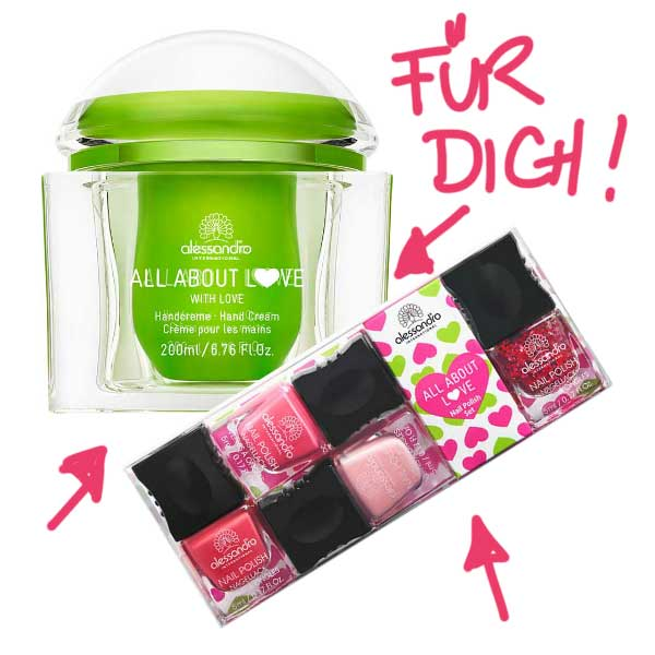 Alessandro All About Love Verlosung bei Hey Pretty Beauty Blog