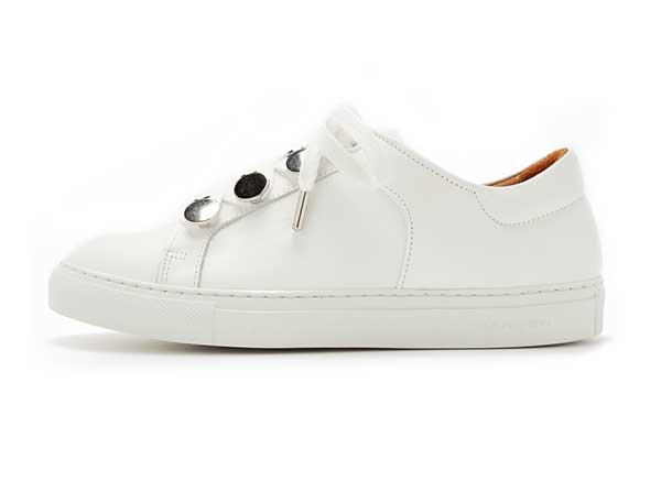 Carven Leather Sneakers Shopbop