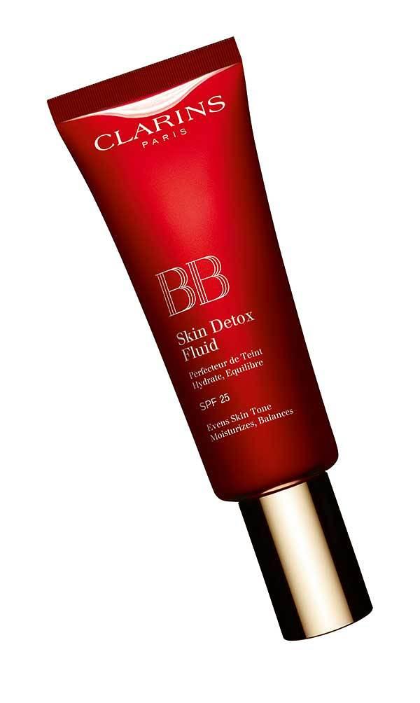 Clarins BB Skin Detox Fluid SPF 25, Review by Hey Pretty Beauty Blog