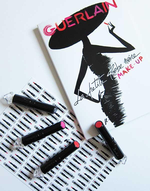 Guerlain La Petite Robe Noire Make Up, Lipstick (Image by Hey Pretty)