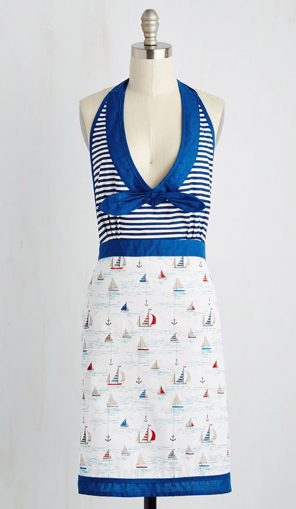 Ahoy meets World Apron by Modcloth