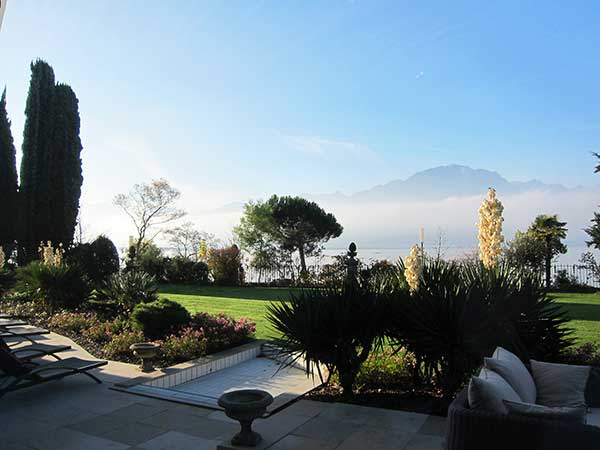 Fairmont Le Montreux Palace, Spa Garden, Review by Hey Pretty