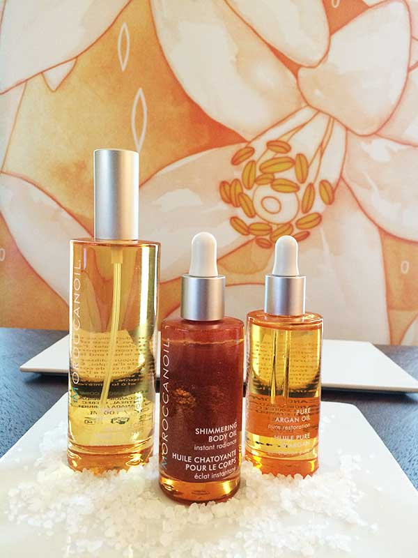 Moroccanoil Body Oil Range, Image by Hey Pretty Beauty Blog