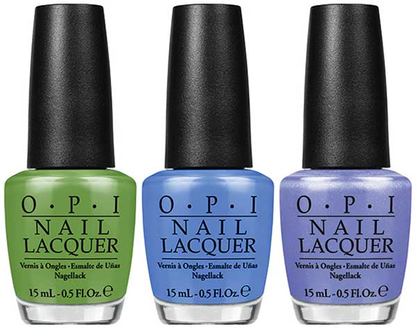 OPI I'm Sooo Swamped!, Rich Girls & Po-Bos, Show Us Your Tips! (New Orleans Collection 2016)