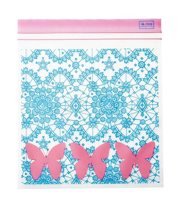 Lace & Butterfly Sandwich Bag by RICE