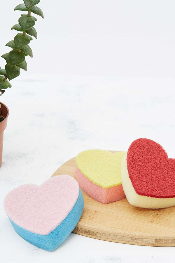 Urban Outfitters Heart Scouring Pads