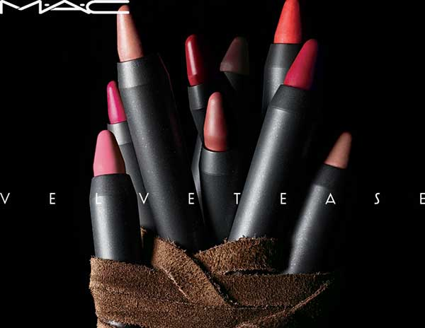 Mac Velvetease Lip Pencil, PR Visual