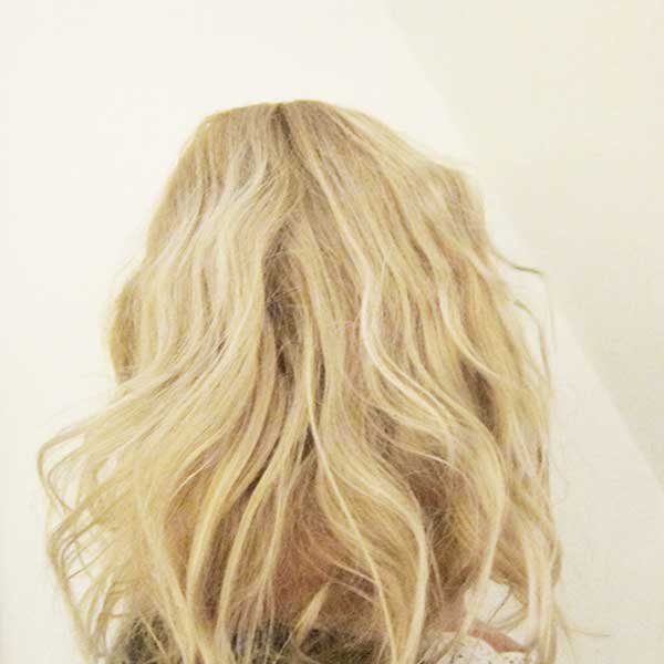 Tutorial Scandi Waves in Real Life, Image by Hey Pretty Beauty Blog FAIL
