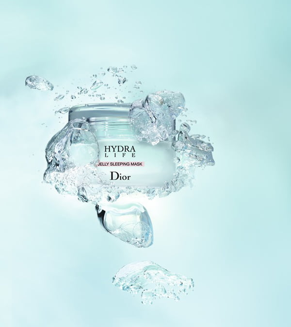 Dior Hydra Life Jelly Sleeping Mask, PR Visual