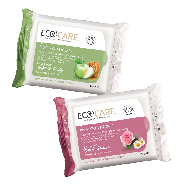 Ecocare Cleansing Wipes, via Shetime.ch