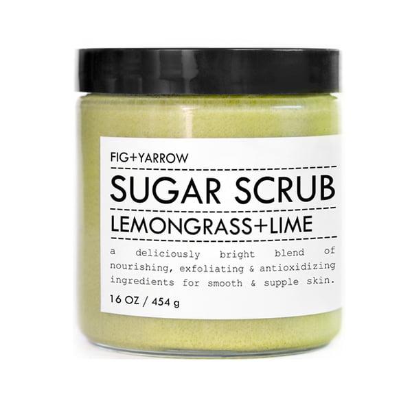 Fig and Yarrow Sugar Scrub Lemongrass and Lime
