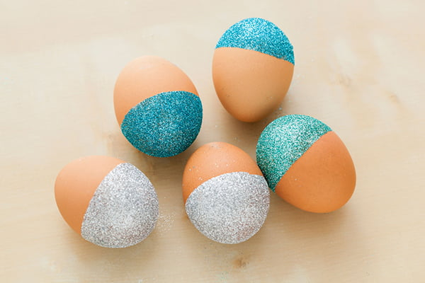 Glitter Eggs, Image Copyright: Brit + Co.