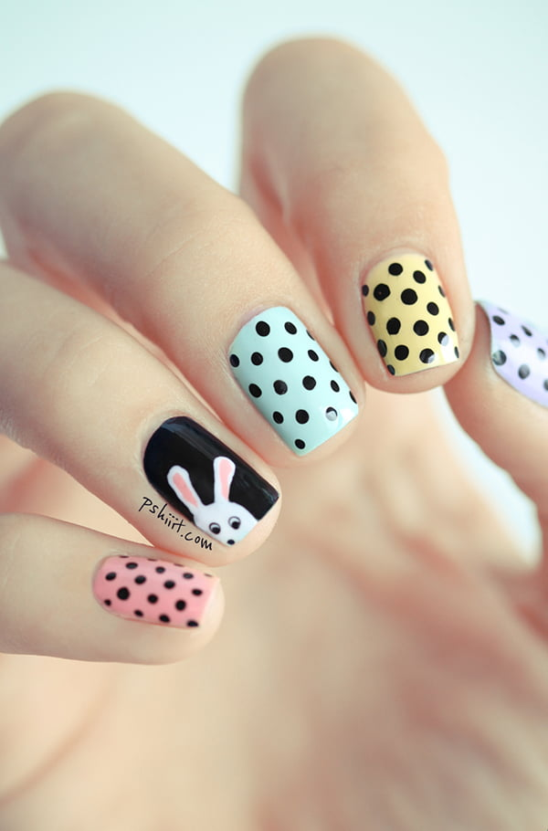 Easter Nail Art, Image Copyright: Pshiiit.com