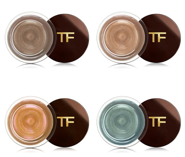 Tom Ford Cream Color for Eyes in Platinum, Opale, Sphinx and Siren Blue