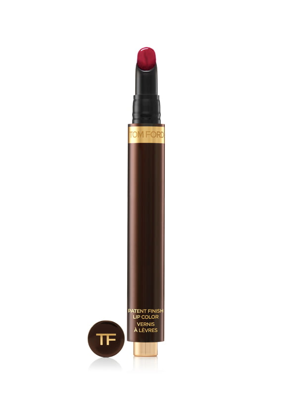 Tom Ford Patent Finish Lip Color in Red Corset