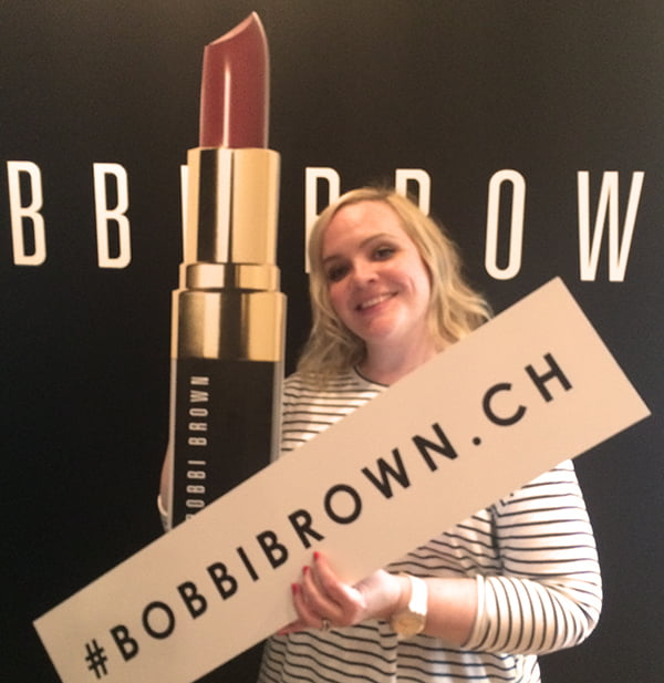 Launch Party BobbibrownCH, Hey Pretty Beauty Blog