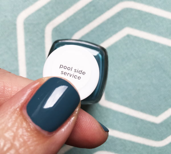 Essie Pool Side Service (Palm Beach Collection), swatch by Hey Pretty Beauty Blog