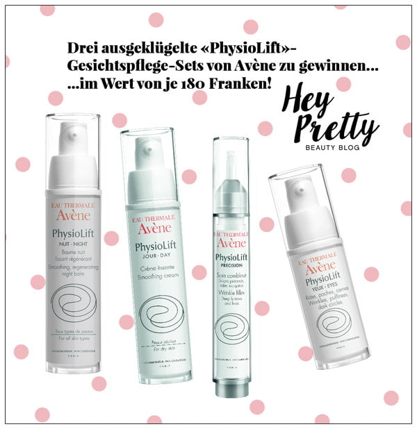 Gewinnspiel Avène PhysioLift, Hey Pretty Beauty Blog