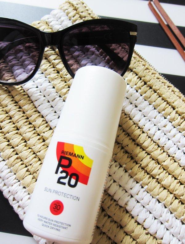 Riemann P20 Sun Protection SPF 30, Copyright Hey Pretty Beauty Blog Schweiz