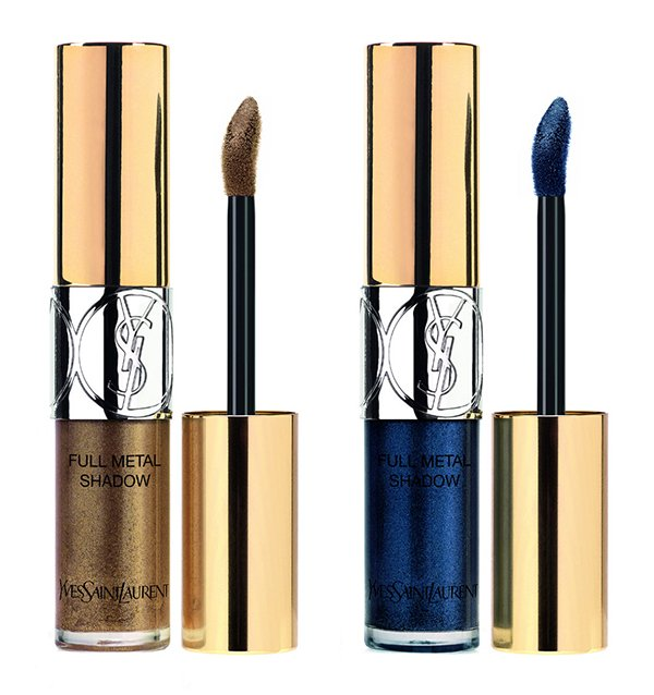 YSL Full Metal Shadow in Bonnie Copper and Blue Clyde