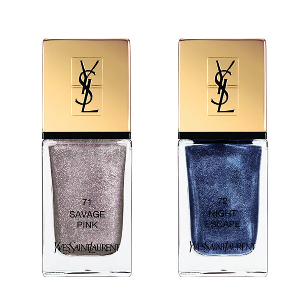 YSL La Laque Couture in Savage Pink and Night Escape