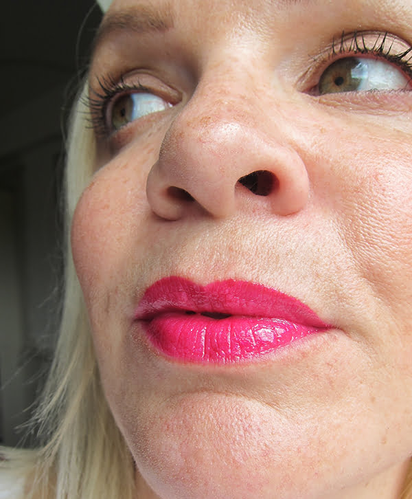 Revlon Ultra HD Lip Lacquer Review, Pink Ruby, Image by Hey Pretty Beauty Blog