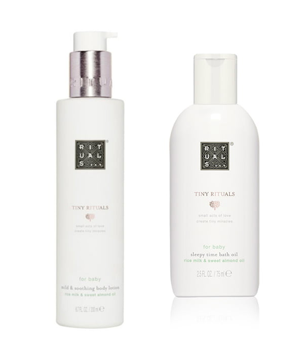 Tiny Rituals for Baby Body Lotion and Sleepy Time Bath Oil