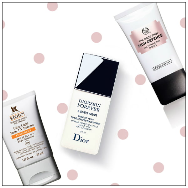 Make-Up Bases mit LSF, Daily Sunscreens by Hey Pretty Beauty Blog