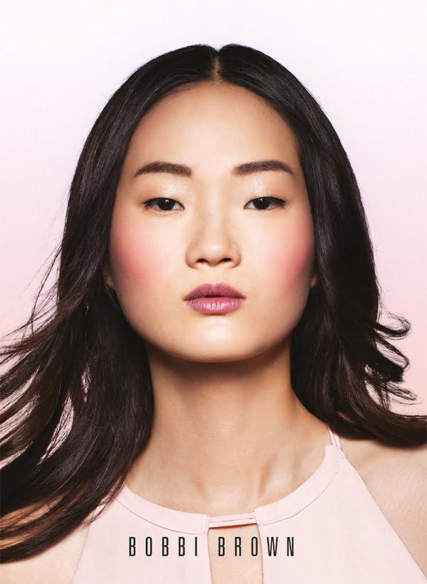 Bobbi Brown Sunset Pink Collection 2016, Model Visual