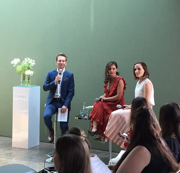 Clinique Difference Maker Event, #DifferenceMakerSwitzerland, Nazan Eckes and Victoria Pendleton