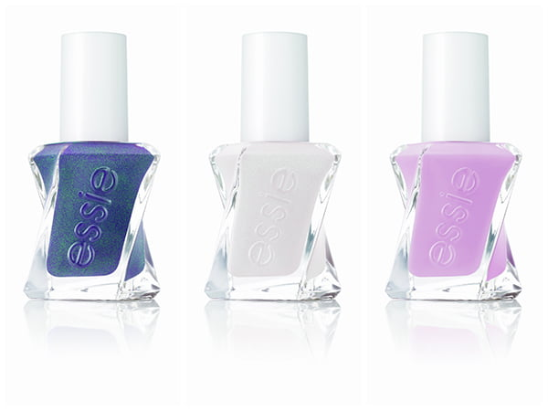 Essie Gel Couture: Twill Seeker, Make the Cut and Touch Up
