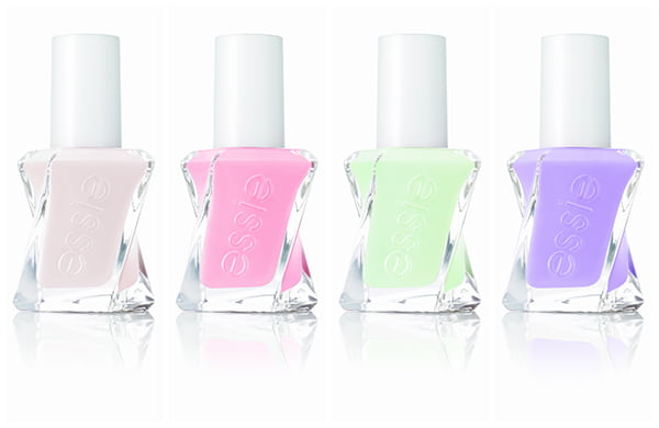 Essie Gel Couture: Pre-Show Jitters, Couture Curator, Zip Me Up and Dress Call