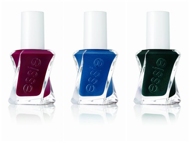 Essie Gel Couture: Spiked with Style, Surrounded by Studs and Hang Up the Heels