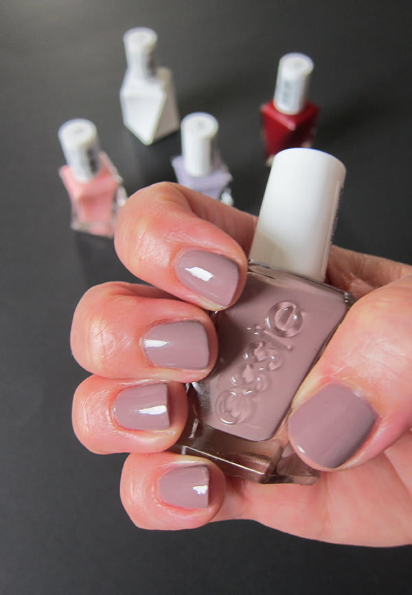 Essie Gel Couture, Take Me to Thread, Swatched by Hey Pretty Beauty Blog