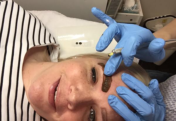 Augenbrauen Microblading, Erfahrungsbericht Hey Pretty @ Beautybox Zürich