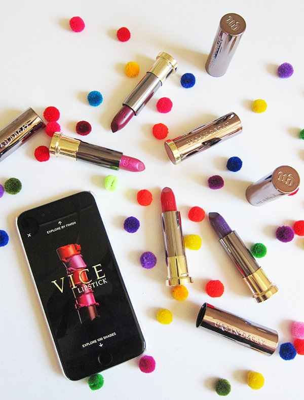 Urban Decay Vice Lipsticks, Image by Hey Pretty Beauty Blog