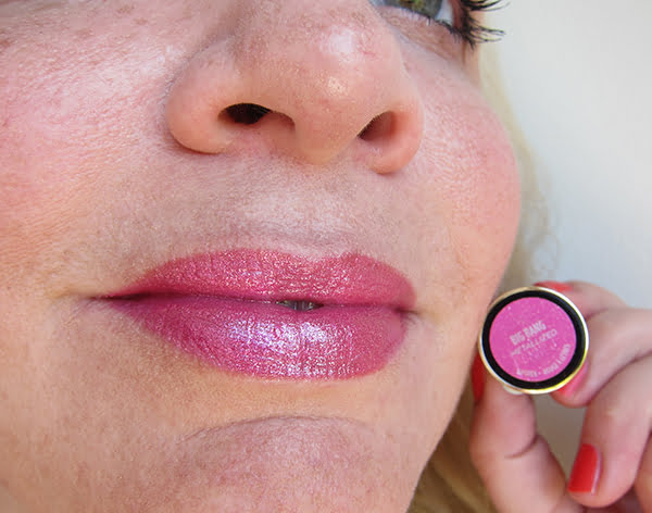 Urban Decay Vice Lipstick Big Bang Metallized, Swatched by Hey Pretty Beauty Blog
