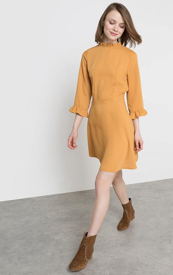 Kleid_LaRedoute_Waffelpikee