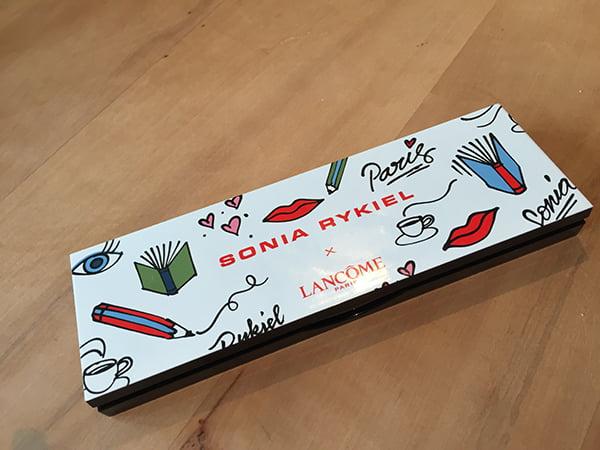 Lancome X Sonia Rykiel La Palette Saint-Germain in Parisian Spirit, Image by Hey Pretty Beauty Blog