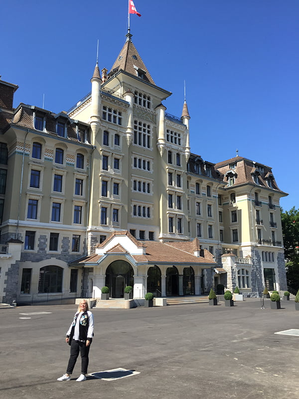 Spa Review Hotel Royal Savoy Lausanne, Copyright: Hey Pretty