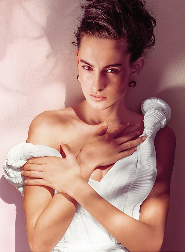 Bottega Veneta Eau Sensuelle Ad Visual with Nine D'Urso