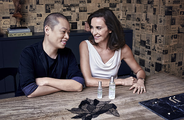Mathilde Thomas and Jason Wu, Caudalie X Jason Wu Eau de Beauté, PR Image
