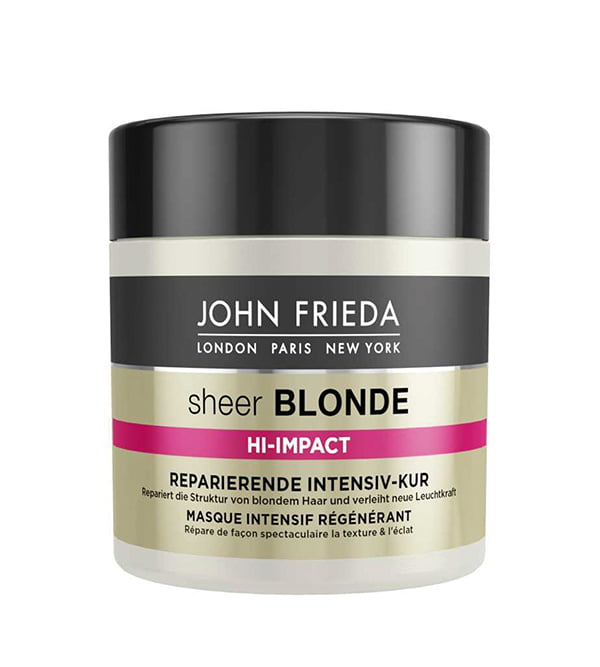 Hey Pretty Must-Have Produkte für feines Haar: John Frieda Sheer Blonde Hi-Impact Reparierende Intensiv-Kur