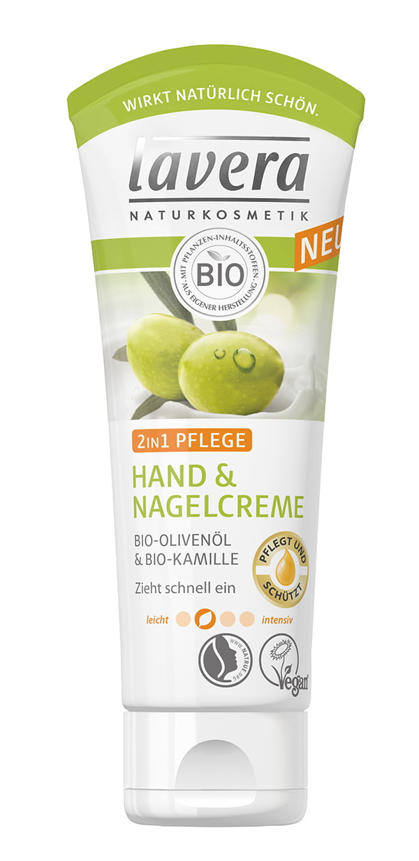 Lavera 2in1 Pflege Hand & Nagelcreme